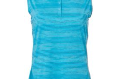 Selling: Slazenger Women's Luminescent Space Dye Sleeveless Golf Polo