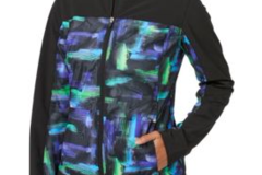 Selling: Slazenger Women's City Lights Collection Printed Mesh Jacket