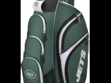 Selling: Wilson New York Jets Cart Golf Bag