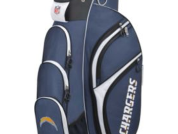 Selling: Wilson Los Angeles Chargers Cart Golf Bag