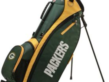 Selling: Wilson Green Bay Packers Stand Golf Bag
