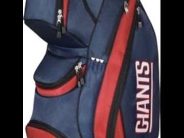 Selling: Wilson NFL New York Giants Cart Bag