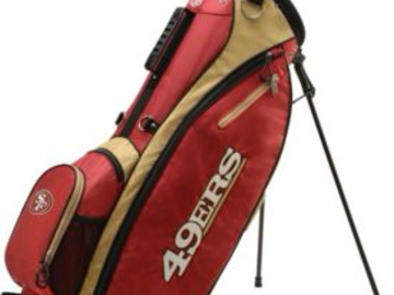 Selling: Wilson San Francisco 49ers Stand Golf Bag
