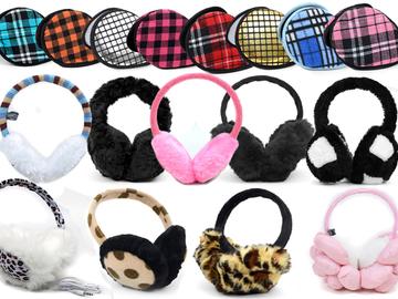 Sell: 120pc Assorted Prepack Winter Ear Muffs
