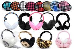 Bulk Lot: 120pc Assorted Prepack Winter Ear Muffs