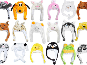 Sell: 120 Pieces of Winter Assorted Animal Hats