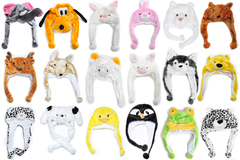 Bulk Lot: 120 Pieces of Winter Assorted Animal Hats