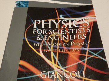 Myydään: Physics for Scientists & Engineers with Modern Physics/4thEd