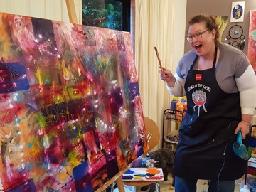 Products: Dream BIG Paint BIG - Creative Life Coaching Experience