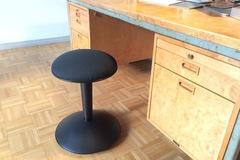 Myydään: Black Ikea stool / jakkara