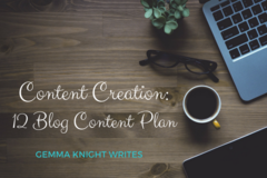 Services: 12 Blog Content Creation Plan - $249