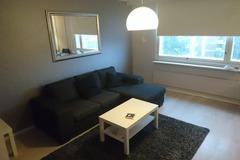 Myydään: Dark gray divan sofa