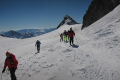 Experience: Descent of the Vallee Blanche