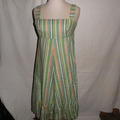 Vente au détail: robe vintage a rayure