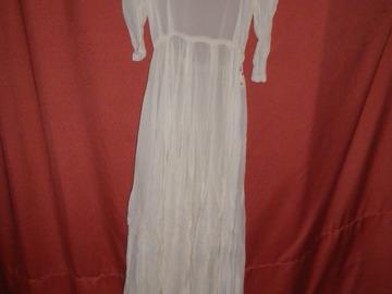 Vente au détail: joli robe vintage en mousseline