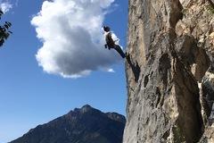 Experience: Free climbing in Grignetta, Valmasino, Valsassina