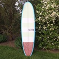 "For Rent: 6'8"" Album Darkness Single Fin"