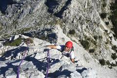 Experience: Rock climbing over the sea or Apuan Alps