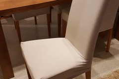 Myydään: Nice and sturdy dining chairs (6 chairs)