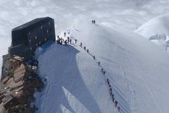 Experience: Mountain shelter Capanna Margherita Punta Gnifetti 4554 mt.