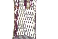Products:  0722: Round Cage Swing Chair