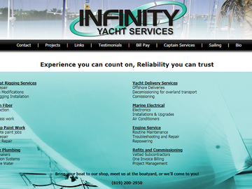 Offering: Yacht maintenance, repair, fabrication, comissioning