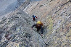Entdeckung: Mountaineering on the Monviso