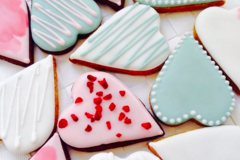 Selling a product: Valentine's Biscuits