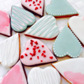 Selling a product: Heart Biscuits