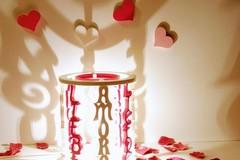 Vente au détail: Lampe décorative avec le mot amour