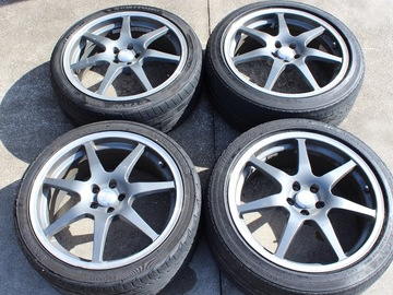 Selling: 18x8 | 5x100 | SSR GT-7 RARE wheels for sale
