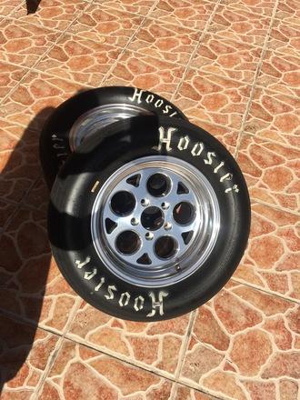 15x8 5x120 Drag Wheels Vision 561 Sport Mags