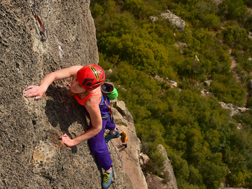 Service/Event: Climbing courses and coaching in Siurana