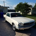 Renting out per day: 1965 Ford Mustang White Beauty!