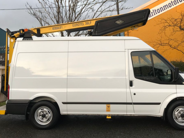 Daily Equipment Rental: Ford transit versalift cherry picker 13m