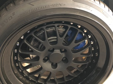 Selling: 18x9.5 & 18x10.5 | 5x100 |  CCW LM20 wheels for sale