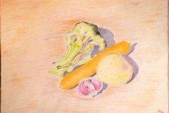 Vente au détail: Pose de légumes