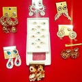 Sell: (1100)Mix-CZircon Fashion Rings & Chunky Earrings-PRICE DROP
