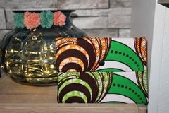 Vente au détail: Pochette Wax small verte