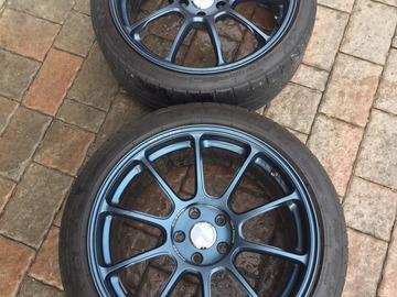 Selling: 19x8.5 & 19x9.5 | 5x112 | Volk ZE40