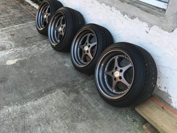 Selling: 17x11.5 | 5x112 | OZ Racing Type 2