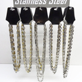 Sell: New 60 Piece Stainless Steel Necklaces with Display