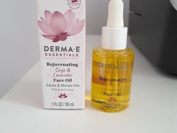 Venta: Derma E Rejuvinating Face Oil NUEVO