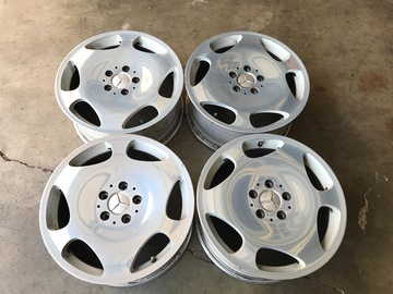 Selling: 17x7.5 | 5x112 | Mercedes Benz CL Class S Class Polished