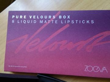 Venta: Pure Velours Box Zoeva