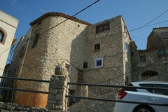 Accommodation: Medieval stone house  in the Tarragona climbs area.