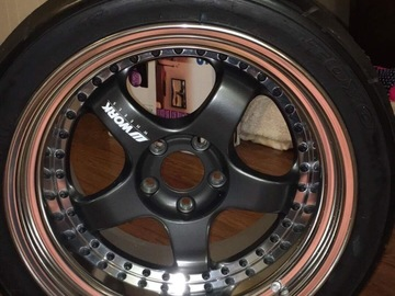 Selling: 18x11 | 5x114.3 | Work Meisters S1 with Toyo R888 315/30