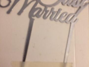 Ilmoitus: Just Married kakunkoriste