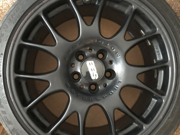 Selling: 18x8.5 | 5x112 | BBS CH with Firehawk Indy 500 Tires
