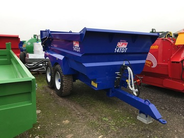 Hourly Equipment Rental: 14 tonne JPM dump trailer for hire